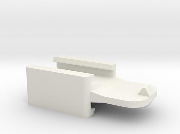 Nerf DoubleTap in White Natural Versatile Plastic
