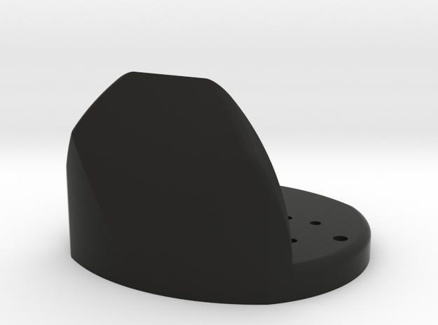 Bixler 2 Front Gopro Mount Hero2/3/3+ Black, Silve 3d printed