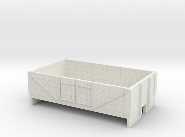 OO9 4 plank open wagon