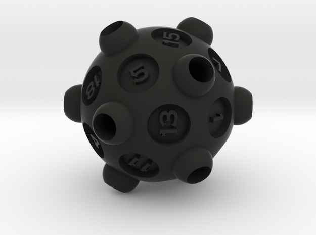 """D20 """"Drained"""" 3d printed"""