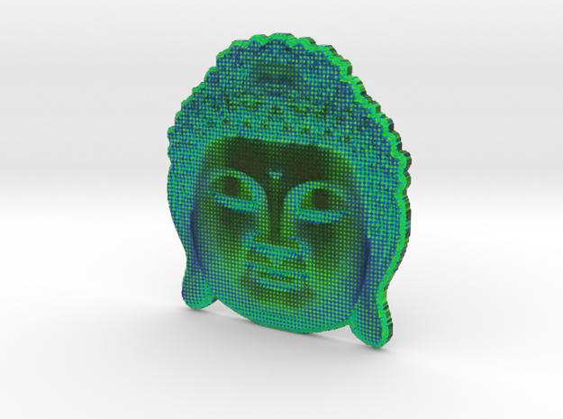 BuddhaAqua in White Natural Versatile Plastic