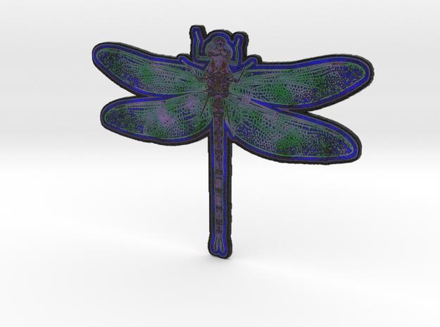 Dragonfly E in White Natural Versatile Plastic