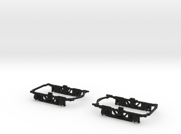 #BDW7801 Baldwin MCB truck frame for NWSL Stanton  in Black Natural Versatile Plastic