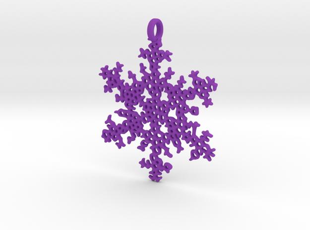 Snowflake Ornament - Radic Delicate 3d printed