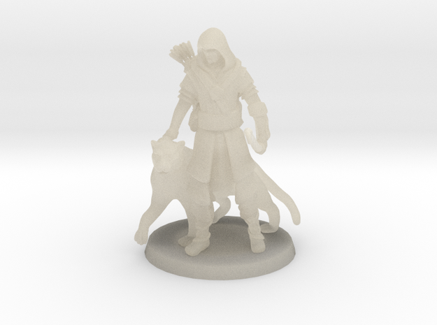 Elven Archer / Beastmaster 3d printed