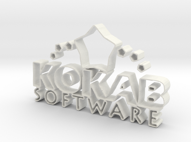 Kokab Software in White Strong & Flexible