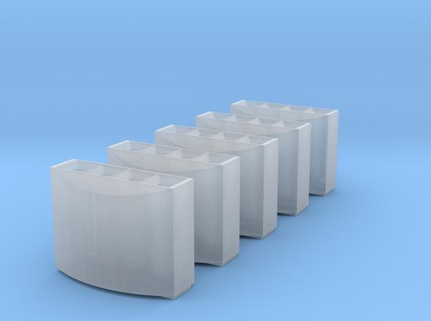 0215 DB Mülleimer 5x 1:160 / modern trash bin 3d printed