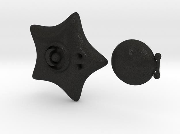 Moon Locket 3d printed