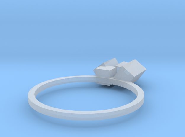 Cubes Ring 02 3d printed