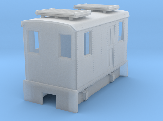 HOn30 short boxcab for Kato 11-103 3d printed