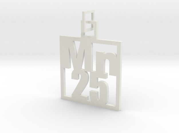 Elemental Pendant 3d printed