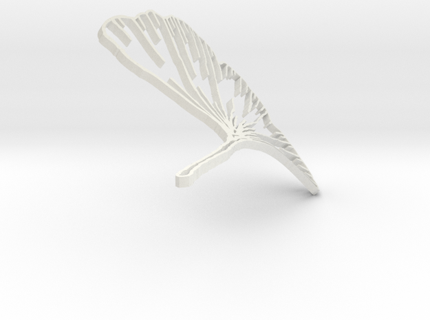 Ginkgo from Rhino 3d printed