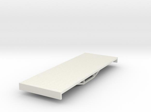 OO9 bogie flat (short) 3d printed