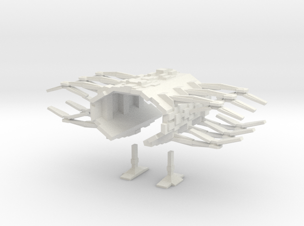 EU Shipyard 1 in White Strong & Flexible