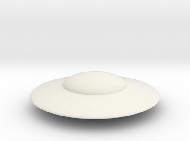 R-Rocket UFO 008 in White Natural Versatile Plastic