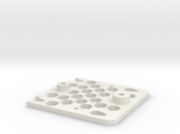 Beholder Base in White Natural Versatile Plastic