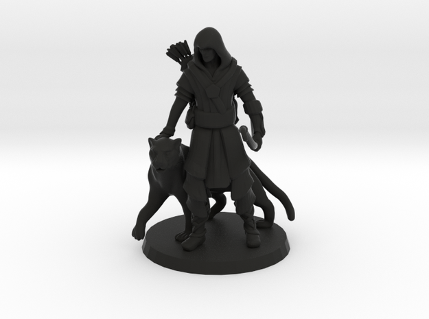 Elven Archer / Beastmaster (Large)