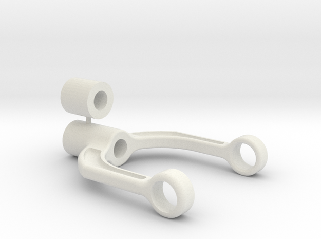 BC or Autogiro hub fork and axle bottom stopper 3d printed