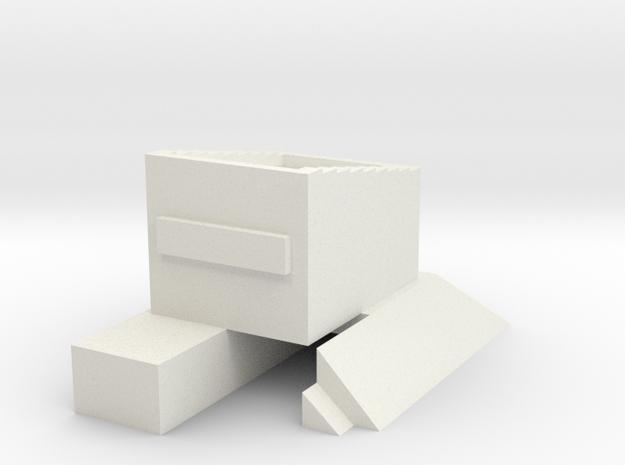 T-Gauge Buffer Stop - Sleeper 3d printed