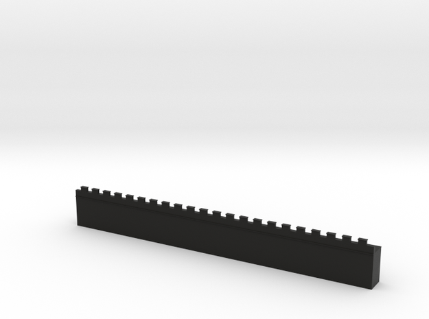 Roman Straight Wall Section Basic (6mm) 3d printed