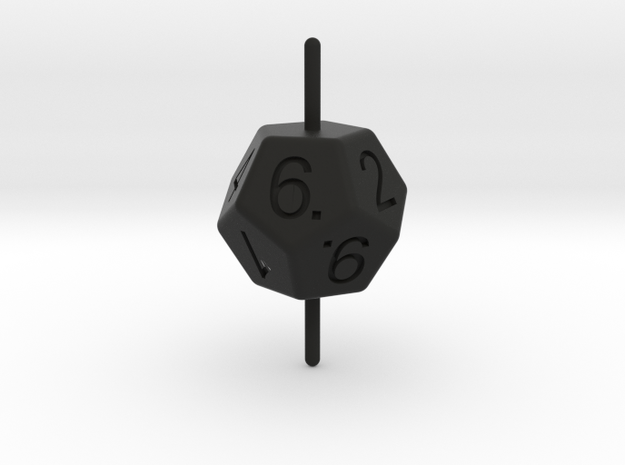 D10 Axis Dice 3d printed
