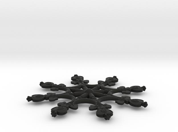 Spiralflake 3d printed