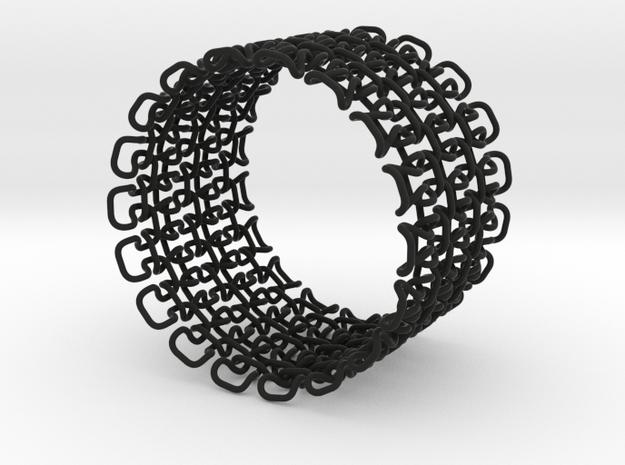 Bracelet test 1.5 mm 3d printed