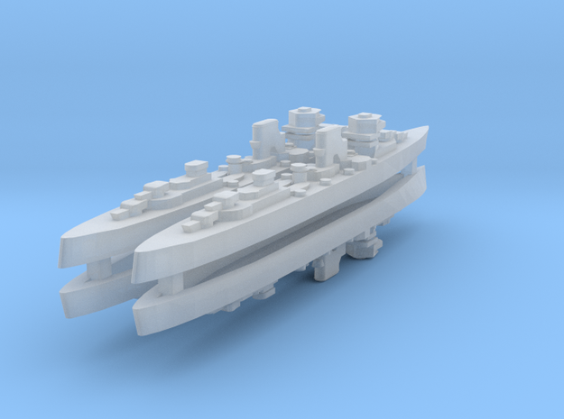 Canarias 1:4800 X4 in Smooth Fine Detail Plastic