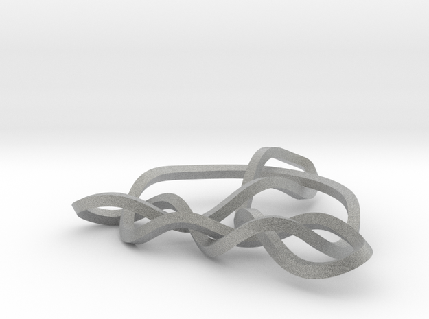 3D Mobius Trinity Knot 3d printed