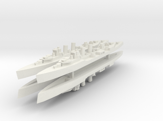 Principe Alfonso 1:2400 X4 in White Natural Versatile Plastic
