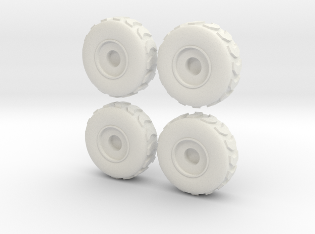 Tire Set 002 - 28mm 3d printed