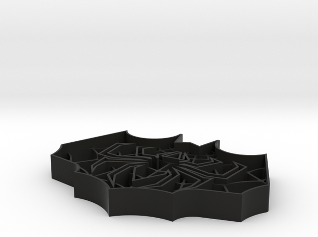 Spider-Bat Cookie Cutter (3 layers, 10 mm) 3d printed