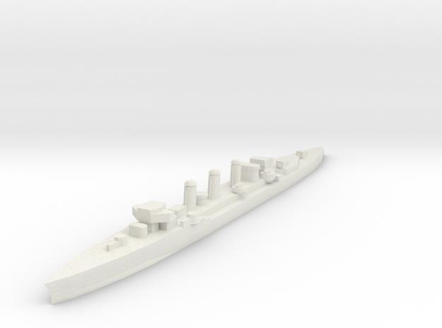 Mendez Nunez 1:1200 x1 in White Natural Versatile Plastic