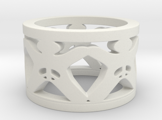 Intactivism Ring Size 5.5 3d printed