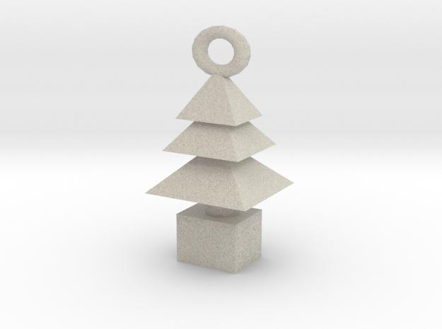 3d  Xmas Tree Tree Bracelet Charm 3d printed