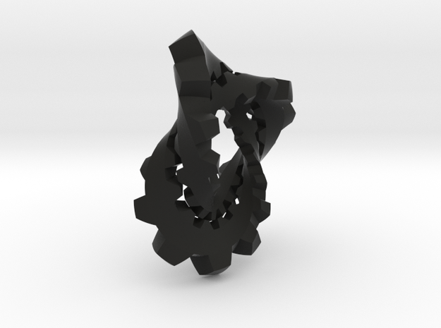 Knotted Cog (small) 3d printed