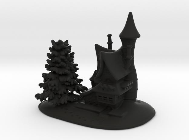 Snow House-w 3d printed