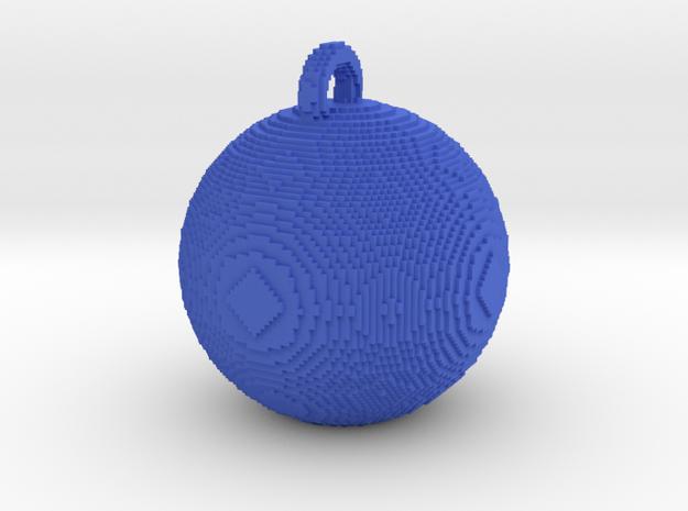 minecraft xmas bauble 3d printed