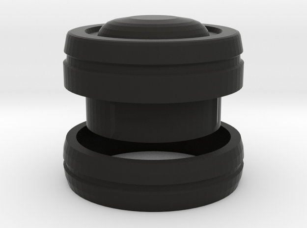 Tipple Flute tuning ring and end cap 3d printed