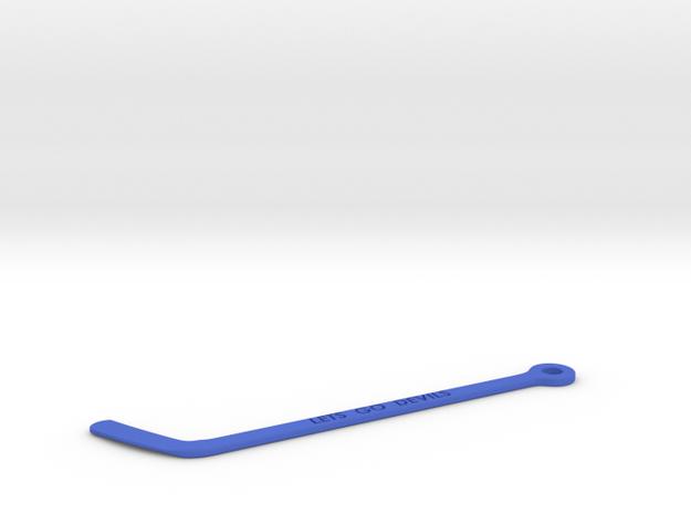 Hockey Stick Key Chain 3d printed