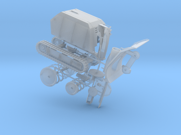 Zaugg - Snow Blower in Frosted Ultra Detail