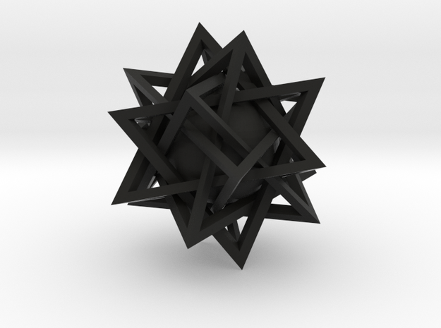 Trapped Sphere 3d printed