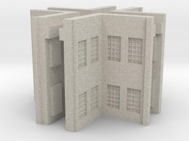 Factory Inside Corner - Z scale  3d printed