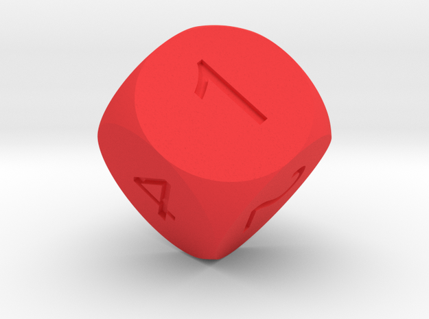 D6 Sphere Dice 3d printed