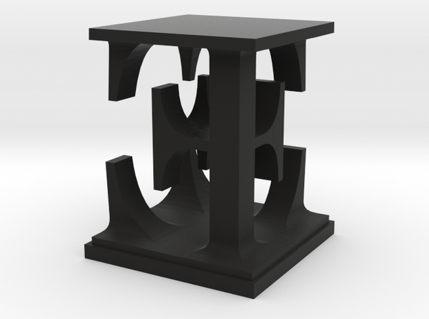 Two way letter / initial E&E 3d printed