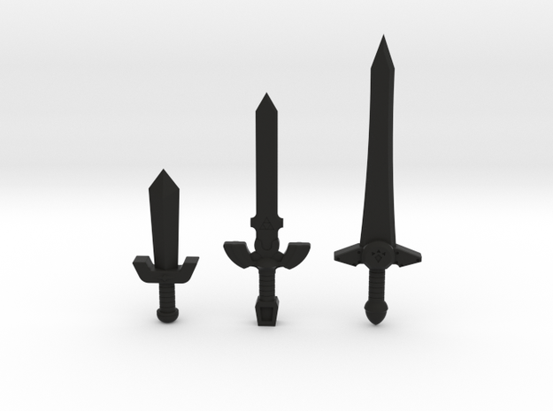 Sword Pack I 3d printed