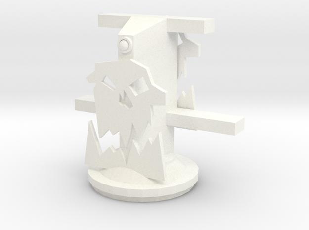 Gun Mount without deck or guns. 3d printed