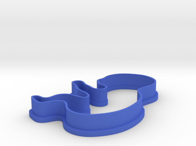Baby / Fetus Cookie Cutter 3d printed
