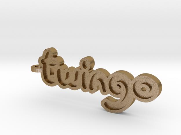 Twingo Keychain 3d printed