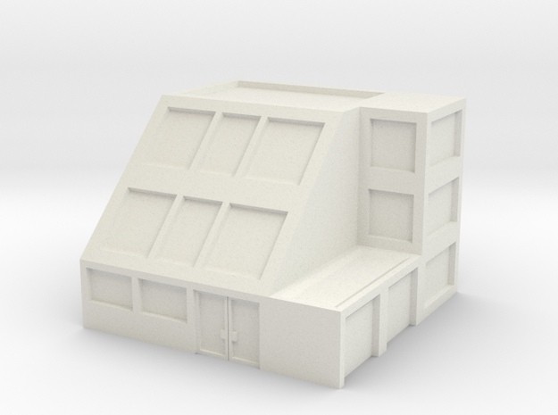 Apartment Building 3d printed